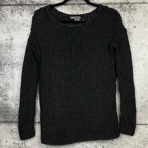 Vince // Thick Chunky Open Knit Sweater
